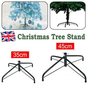 6/8/10FT Christmas Tree Green Pine Stand Metal Holder Base Cast Iron Shelf Decor