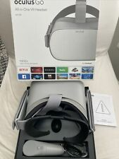 Oculus Go Virtual Reality Headset - Grey Used Only A Few Times VR Head Set