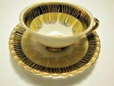 Vintage Winterling Marktleuthen Bavarian Tea Cup & Saucer Art Deco