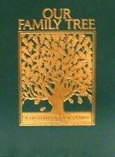 Our Family Tree  History of Our Family History Blank Genealogy Record Gift Book