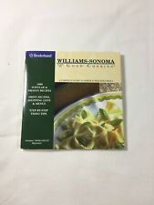 Williams Sonoma ~ Guide To Good Cooking - Broderbund (CD-ROM)