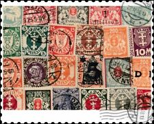 Danzig : 25 Different Stamps Collection