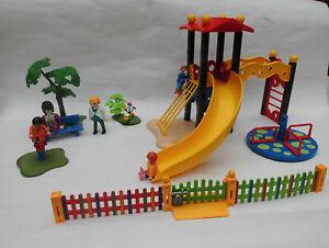 PLAYMOBIL Kinderspielplatz 5568 (nicht ganz vollständig)