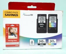 Canon PG-240XL / CL-241XL Ink Cartridge Combo Pack New And Sealed
