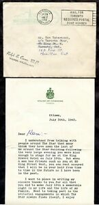 TORONTO 1963 House of Commons Cover & Letter to Star's Ken Robertson   (p0894)