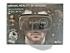 ReTrak Utopia 360 Virtual Reality Smartphone VR Headset Android Apple Brand New