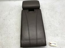 07-09 BMW X5 E70 REAR SEAT ARM REST CUP HOLDER TOBACCO BROWN NAPPA LEATHER OEM