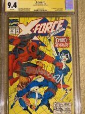 X-Force 11 - CGC SS 9.4 - Fabian Nicieza