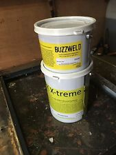 BUZZWELD 2K ARMOUR EPOXY 77% AS HARD AS STEEL Starter kit BLACK  1L  4.8 M2