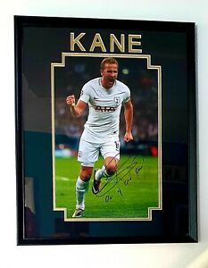 Harry Kane signed Champions League Picture..'one Of Our Own ' ..rare As ..