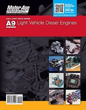 ASE A9 Study Guide Car Diesel Certification by Motor Age Training UPDATED