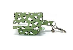 Sheep Print Dog Treat Bag / Dog Poo Bag Carrier