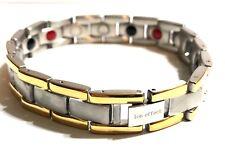Men's Fashion Authentic Negative Ion Effect Bracelet Men SILVER gold balance