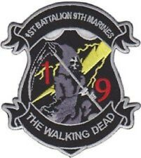 USMC 1st Battalion 9th Marines The Walking Dead Patch