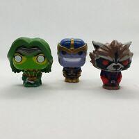 Mini FUNKO POP! Marvel Disney Figures Figurines Thanos Gamora Rocket Raccoon