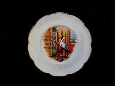 Vintage Comic Vodrey China Baby Stork Plate There Must Be Some Mistake