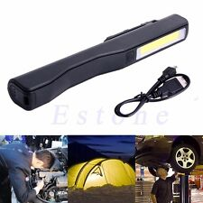 2in1 COB LED Rechargeable Camping Work Inspection Light Lamp Hand Torch Magnetic