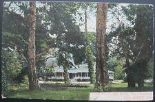 No. 105 Club House Del Monte Hotel Grounds Del Monte California Postcard 1910