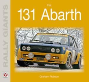 New Book Fiat 131 Abarth Rally Giants Race Car Races rally Motoracing