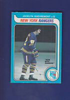 Jocelyn Guevremont 1979-80 O-PEE-CHEE OPC Hockey #381 (EXMT+)  New York Rangers