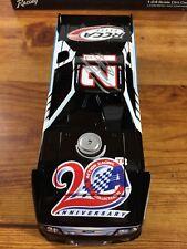 2012 AUTOGRAPHED Action TREVOR BAYNE #21 Lionel Ford Dirt Diecast Nascar 1/24