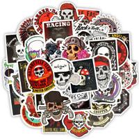 50 Skull Rock Stickerbomb Horror Retrostickern Aufkleber Sticker Mix Decals