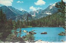Bear Lake  Longs Peak   Rocky Mountain National Park   Colorado   Postcard 9254