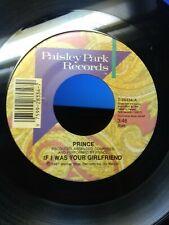 "Prince 7"" Shockadelica/If I Was Your Girlfriend VG+!!!!!!!"