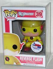 FUNKO POP 2013 DC UNIVERSE REVERSE FLASH #39 Dallas Comic Con RARE In Stock