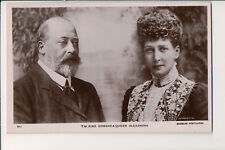 Vintage Postcard King Edward VII & Queen Alexandra of England