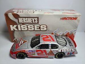 2004 Kevin Harvick #21 Special Edition Hershey's KISSES 1:24 NASCAR Action MIB