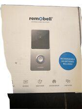 remobell s wi-fi video doorbell camera
