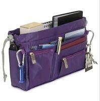 Handbag 2 Handbag Luxury Travel Organizer Purple / Peacock