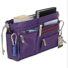 Handbag2Handbag Luxury Travel Organizer Purple animal print