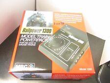 MRC Railpower 1300 Model Train Powerpack for HO & N Scale Equipment vmf121
