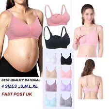 Seamless Maternity Nursing Bra Bralette Pregnancy No Wire Breastfeeding Lingerie