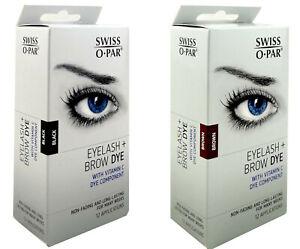 Swiss O Par Eyelash & Brow Kit New Packaging With Vitamin C Long Lasting No Fade
