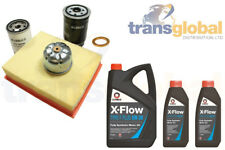 Filter Service Kit w 7L 5W-30 Fully Synthetic Oil for Land Rover Discovery 2 TD5