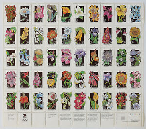 29c WILDFLOWERS Sheet of 50 1992 Scott #2696a