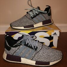 Adidas NMD R1 Champs Exclusive Grey Static Wool Burgundy Size 11