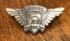 Vintage 1998 Camel Cigarette Road House Tour Motorcycle Lapel Hat Pin Pinback