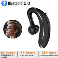 Wireless Bluetooth 5.0 Earphones Earhook Sports Headphones Stereo Mic Headset UK