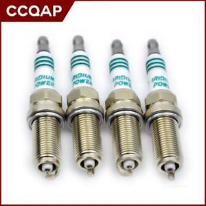 4x Iridium Spark Plugs IKH16 5343 for Nissan Renault Peugeot Citroën Power