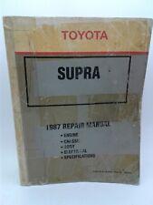 1987 Toyota Supra repair manual RM043U