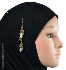 Islamic Hijab pin Muslim fashion Safety Hijab pins Scarf Accessories # 6 in Gold