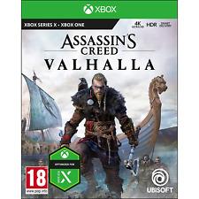 ASSASSIN'S CREED VALHALLA XBOX ONE E SERIES X EU NUOVO SIGILLATO GIOCO ITA