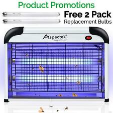 Aspectek HR292-1 Electronic Bug Zapper Indoor Insect Killer 20W