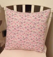 "💗Laura Ashley Girls Tallulah Lilac Pink Floral 16"" Cushion Cover Shabby Chic💗"