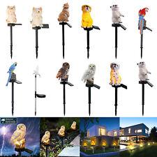 Solar LED Animal Lawn Light Outdoor Waterproof Garden Lawn Landscape Decor Lamp