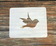 Bird Small Face Painting Stencil 7cm x 6cm 190micron Washable Reusable Mylar